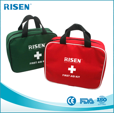 2017 FDA approved customize logo 100pcs Portable medical set first aid kit